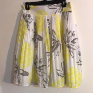 Pleated spring skirt. 🐣